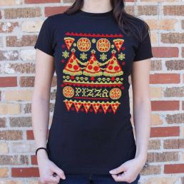 Ugly Pizza Sweater