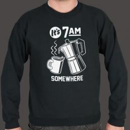 It's 7 A.M. Somewhere