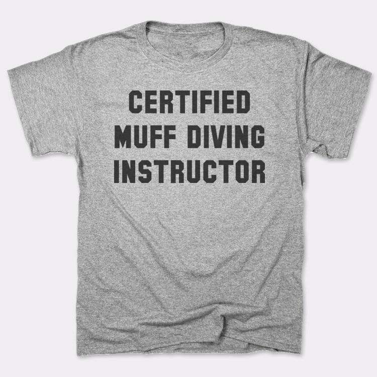 Certified muff diving instructor