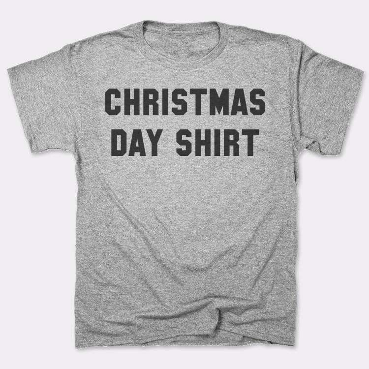 Christmas day shirt