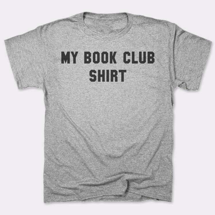 My book club shirt