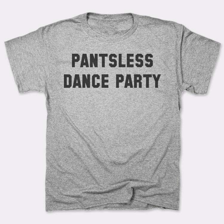 Pantsless dance party
