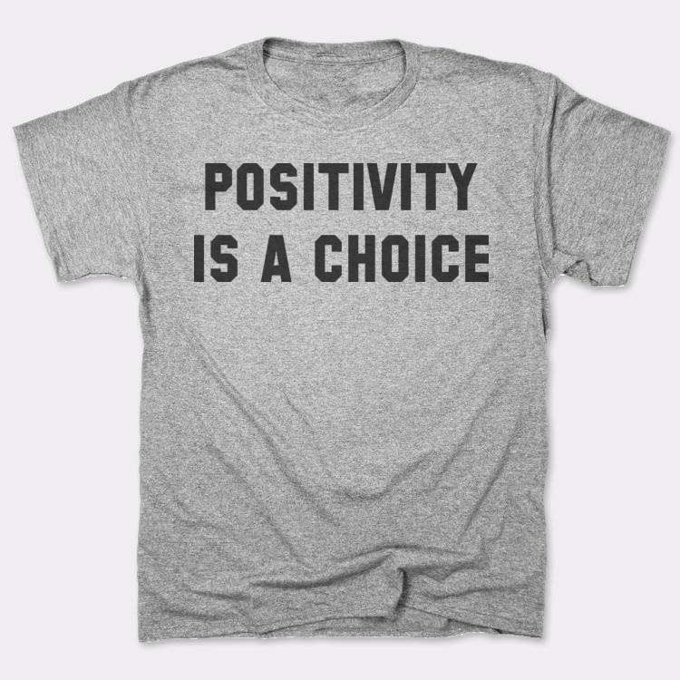 Positivity{{--}}is a choice