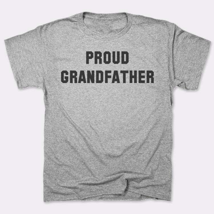 Proud grandfather