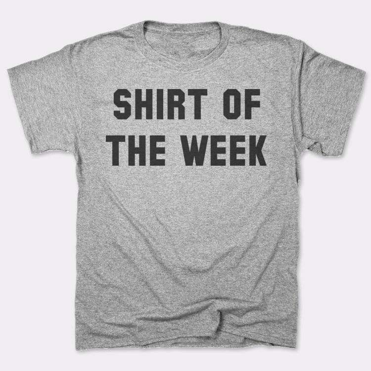 Shirt of{{--}}the week