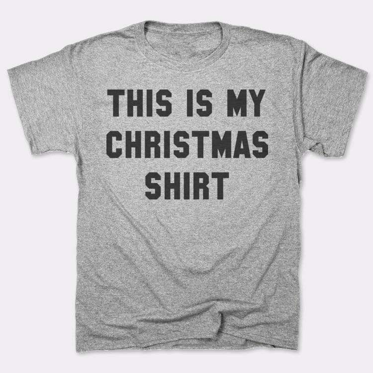 This Is My Christmas Shirt